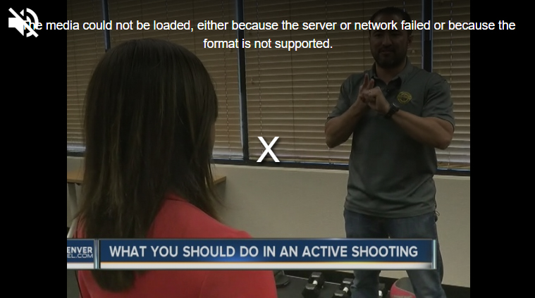 WHAT TO DO IN AN ACTIVE SHOOTER EVENT