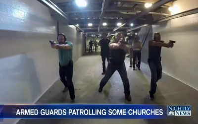 U.S. CHURCHES NOW TAKING AGGRESSIVE STEPS TO PROTECT PARISHIONERS