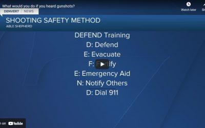What would you do if you heard gunshots? Denver 7